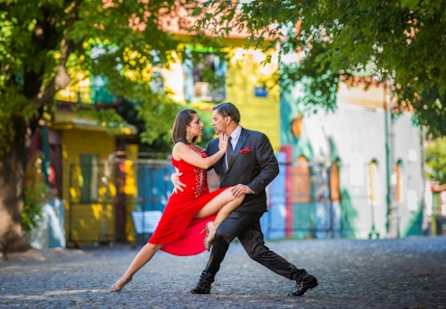 History of ballroom dance