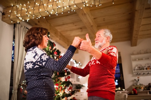 Holiday movie dance scenes 1